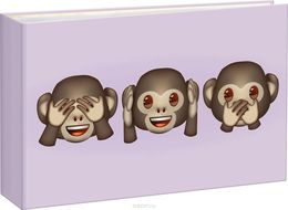 Album Emoji Mini Monkeys 36 fotole 10x15 cm taskutega
