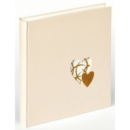 Album Heart of Gold klassikaline leht, 50 lk, 28x30,5 cm. UH-137