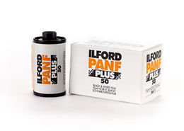 Film Ilford Pan F Plus 135-36, ISO 50