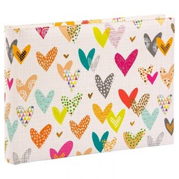 Album Lots of Hearts klassikaline leht, 36 lk, 19.227, 22x16 cm